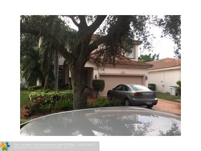 Coconut Creek Single Family Home For Sale: 5527 Lake Tern Ct