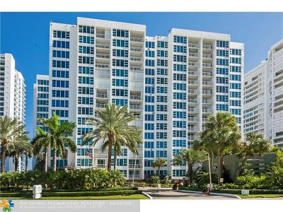 Lauderdale By The Sea Condo/Townhouse For Sale: 1620 S Ocean Blvd #7G