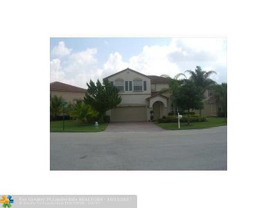 Coral Springs Single Family Home For Sale: 12669 NW 8th Ct
