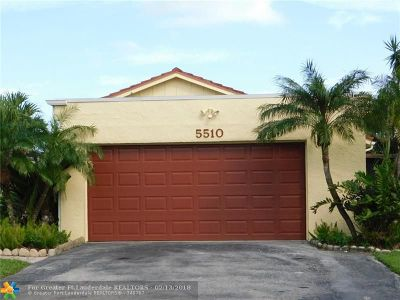 Boynton Beach Single Family Home For Sale: 5510 Ainsley Ct