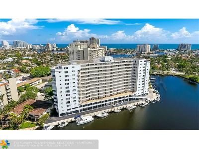Fort Lauderdale Condo/Townhouse For Sale: 333 Sunset Dr #507
