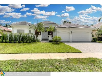 Plantation Single Family Home For Sale: 10920 Hawks Vista St