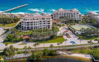 Palm Beach Condo/Townhouse For Sale: 3000 S Ocean Bl #204