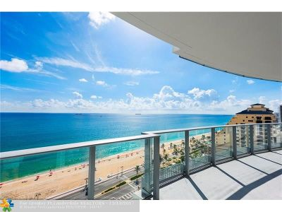 Fort Lauderdale Condo/Townhouse For Sale: 701 N Fort Lauderdale Beach Blvd #1401