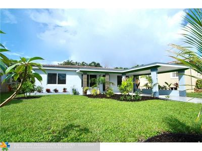 Fort Lauderdale Single Family Home For Sale: 4761 NE 4th Ave