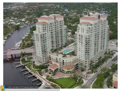 Fort Lauderdale Condo/Townhouse For Sale: 610 W Las Olas Blvd #1513N