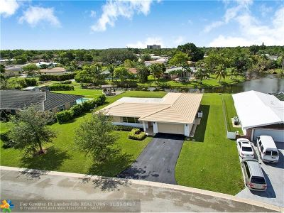Coral Springs Single Family Home For Sale: 3740 NW 99th Ave