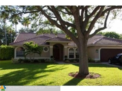 Coral Springs Single Family Home For Sale: 4870 NW 104th Ln
