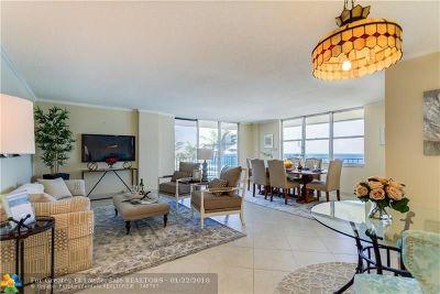 Hillsboro Beach Condo/Townhouse For Sale: 1149 Hillsboro Mile #511