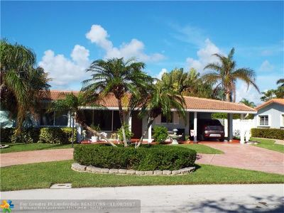 Lighthouse Point Single Family Home For Sale: 3305 NE 28th Ave