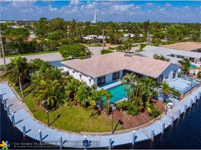 Fort Lauderdale Single Family Home For Sale: 5150 Bayview