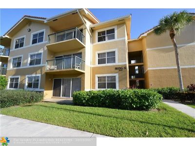 Coral Springs Condo/Townhouse For Sale: 8901 Wiles Rd #305