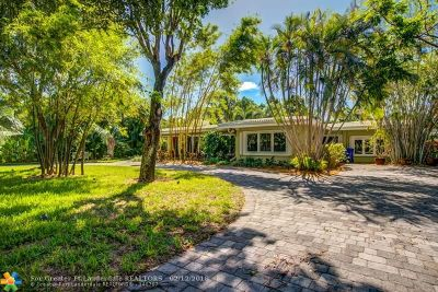 Coral Ridge, Coral Ridge 21-50 B, Coral Ridge Add, Coral Ridge Country Club Single Family Home For Sale: 2614 NE 15th St