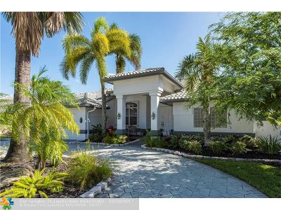 Plantation Single Family Home For Sale: 10842 NW 5th St