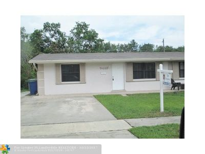 Cooper City Single Family Home For Sale: 9449 SW 52nd Ct