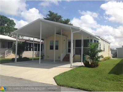 Margate Single Family Home For Sale: 2908 NW 62nd Avenue