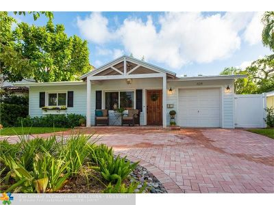 Fort Lauderdale Single Family Home For Sale: 624 SE 6th St