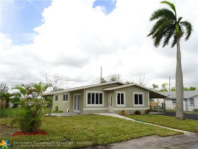 Fort Lauderdale Single Family Home For Sale: 1641 NW 28th Ave