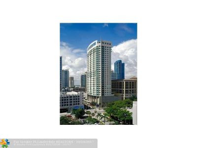 Fort Lauderdale Condo/Townhouse For Sale: 350 SE 2nd St #2160
