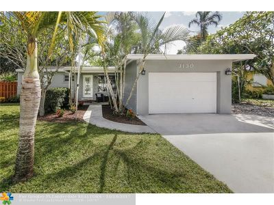 Fort Lauderdale Single Family Home For Sale: 3130 SW 16th St