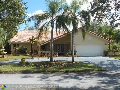 Coral Springs Single Family Home For Sale: 159 NW 95th Ln