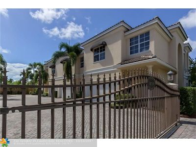 Fort Lauderdale Condo/Townhouse For Sale: 1516 NE 7th St #2