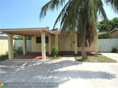 Fort Lauderdale Single Family Home For Sale: 1380 SW 34th Ave