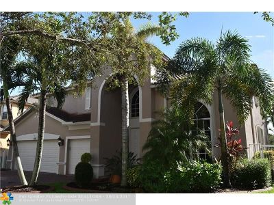 Weston Single Family Home For Sale: 3886 W Hibiscus St