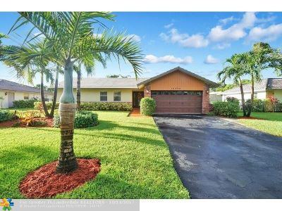 Coral Springs Single Family Home For Sale: 10712 NW 19th Pl