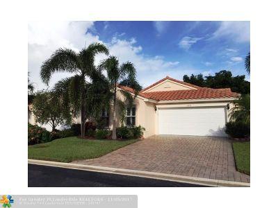 Boynton Beach Single Family Home For Sale: 11978 Rosetree Ter