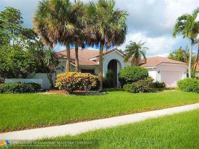 Boca Raton Single Family Home For Sale: 11272 Boca Woods Ln