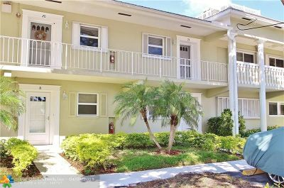 Fort Lauderdale Condo/Townhouse For Sale: 3201 NE 36th St #21