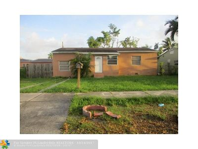 Miami Single Family Home For Sale: 3121 NW 16th St