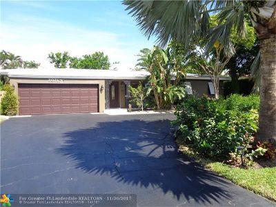 Fort Lauderdale Single Family Home For Sale: 2071 NE 54th St