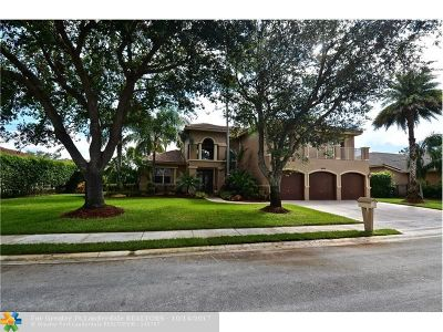 Pembroke Pines Single Family Home For Sale: 15958 SW 6th St