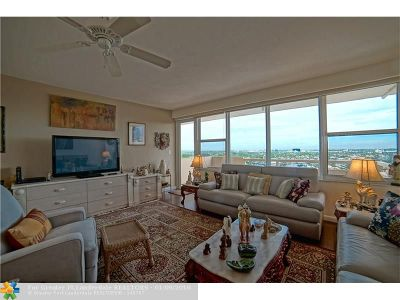 Fort Lauderdale Condo/Townhouse For Sale: 3300 NE 36th St #1706