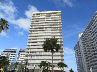 Fort Lauderdale Condo/Townhouse For Sale: 4020 Galt Ocean Dr #507