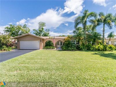 Coral Springs Single Family Home For Sale: 11743 NW 26th St