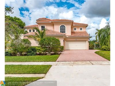 Weston Single Family Home For Sale: 15665 SW 17th St