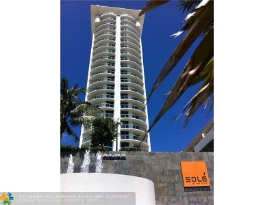 Sunny Isles Beach Condo/Townhouse For Sale: 17315 Collins Ave #2301