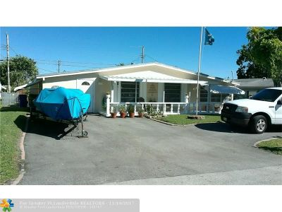 Margate Single Family Home For Sale: 6265 NW 24th Ct