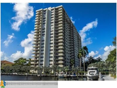 Fort Lauderdale Condo/Townhouse For Sale: 3200 Port Royale Dr #2004