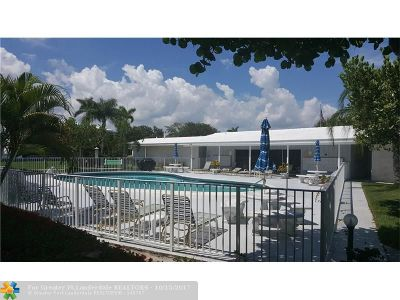 Fort Lauderdale Condo/Townhouse For Sale: 2170 NE 51st Ct #A22