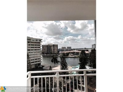Hallandale Condo/Townhouse For Sale: 1801 S Ocean Dr #738