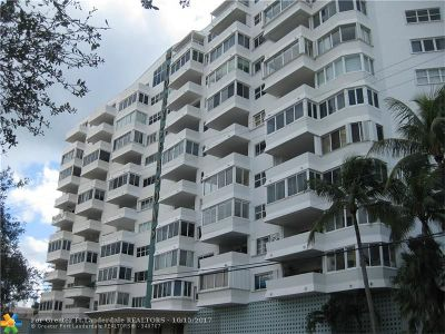 Fort Lauderdale Condo/Townhouse For Sale: 333 Sunset Dr #504