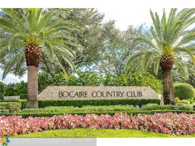 Boca Raton Single Family Home For Sale: 4846 Tallowwood Ln