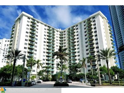 Hollywood Condo/Townhouse For Sale: 3001 S Ocean Dr #109
