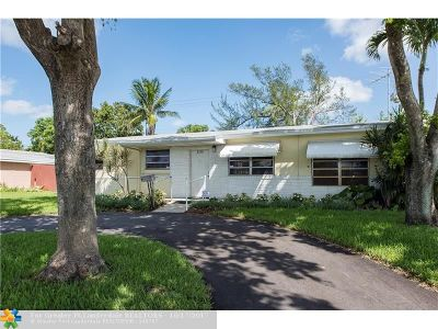 Lauderdale Lakes Single Family Home For Sale: 3210 NW 43rd Ave