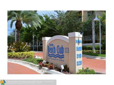 Dania Condo/Townhouse For Sale: 519 E Sheridan St #302