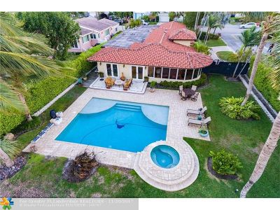 Miami Beach Single Family Home For Sale: 675 N Shore Dr